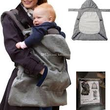 Winter Out Baby Carrier Warm Cloak Windproof Baby Blanket Baby Sling ...