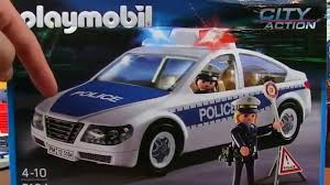 Playmobil City Action Police Van With Lights And Sound 6043 Image Is Loading Playmobil Police Station 6919 New Neu Ovp