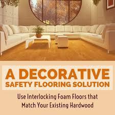 decorative interlocking foam safety flooring