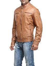 rohnny men biker leather jackets