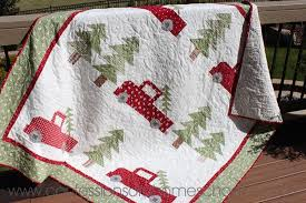 Christmas Quilt Patterns Gorgeous Vintage Christmas Quilt Pattern Confessions Of A Homeschooler