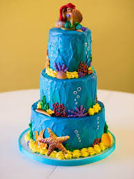 Little Mermaid Specialty Cake Cozze Cakes