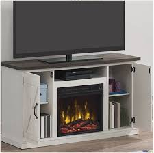 rustic tv stand with electric fireplace rustic electric fireplace tv stand barn door media console furniture