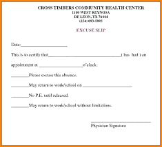 Free Fake Doctors Note Work Doctor Note Image 7 Excuse Template For Work Printable Notes Free