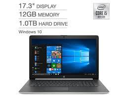 Cpu intel core i5 là một sản phầm tầm trung nhưng đem lại sức mạnh xử lý vô cùng hiệu quả và mạnh mẽ trong mọi tác vụ. Refurbished Hp 17 3 Inch Laptop 10th Gen Intel Core I5 1035g1 12gb Ram 1tb Hdd Windows 10 Newegg Com In 2021 Intel Core Hp 17 Intel