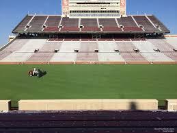 Oklahoma Memorial Stadium Seating Chart Oklahoma Memorial Stadium Section 31 Rateyourseats Com