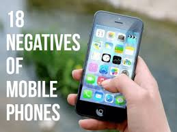18 disadvanes of mobile phones