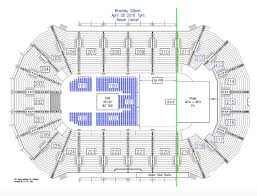 Resch Center Seating Chart With Seat Numbers Valid Eric Church Seating Chart Resch Center Kfc Yum Center