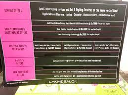Lakme Salon Price Chart 28 Albums Of Qod Hair Treatment Lakme Explore Thousands