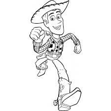 Disegno Di Woody Toy Story Da Colorare Per Bambini