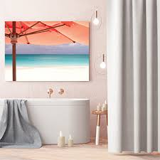 Art for bathroom Small Bathroom Fun Bathroom Living Coral Canvas Art Prints Icanvas Canvas Wall Art For Bathroom Icanvas