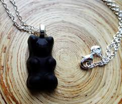 gummy bear necklace pendant 22 sterling