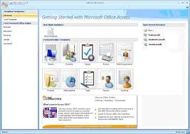 Ms Access 2007 Templates Download Discover The Power Of Microsoft Access Template Databases