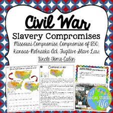 missouri compromise compromise of kansas nebraska act  missouri compromise compromise of 1850 kansas nebraska act fugitive slave law