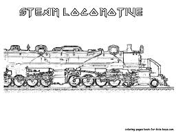steel wheels train coloring sheet yescoloring free trains