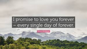 "Stephenie Meyer Quote: ""I promise to ..."