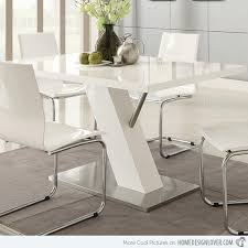 white modern dining room sets. Good Looking White Modern Dining Set 5 Magnificent Room Sets And Refreshingly Neat 15 Home Design L