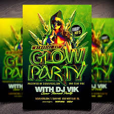glow flyer photoshop flyers psd flyer templates flyer designs sick flyers