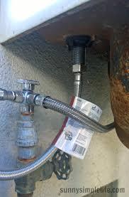 plumbing for outdoor sink