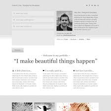 simple resume website free psd portfolio and resume website templates in 2018 colorlib
