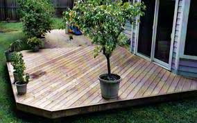 wood patio ideas. Brilliant Wood Patio Deck Ideas With On Concrete W