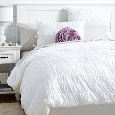white duvet cover twin xl ruched duvet cover sham regarding white twin idea 0 black and