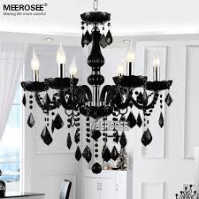 stunning small glass chandelier aliexpress small crystal chandelier lamp fixture black