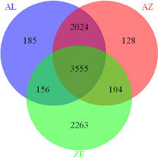 Endothermy Vs Ectothermy Venn Diagram A Venn Diagram Illustrating The Number Of Genes Expressed In