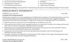 Customer Service Cv Resume Help Free Customer Service Resume