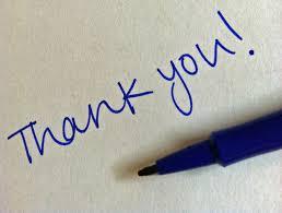 Thank You Notes Shuart Associates