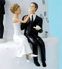 91 best wedding cake toppers images on pinterest wedding cake Wedding Cake Toppers Ginger Groom bride & groom cake topper sitting pretty for a fun twist, the \u201ccouple eating Funny Wedding Cake Toppers