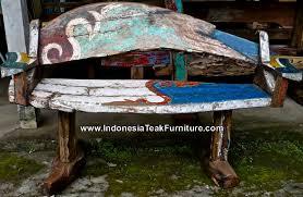 ship wood furniture. bb16 reclaimed ship wood bench furniture bali indonesia
