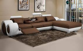 Living Room Leather Sofas Creative