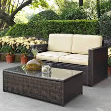 Crosley Furniture Palm Harbor 2Piece Outdoor Wicker Seating Set Palm Harbor Outdoor Furniture