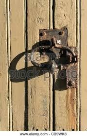 old door locks mechanisms beautiful old distressed antique door lock keyhole embly rusty old fashioned door mechanism in weathered door stock photo