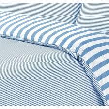 vintage ticking stripe duvet cover blue and white striped duvet cover ikea ticking stripe bedding blue