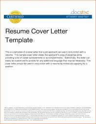 Job Resume Cover Letter Template Best Of Examples For New Valid