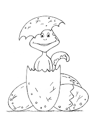 Free Cute Baby Dinosaurs Coloring Pages