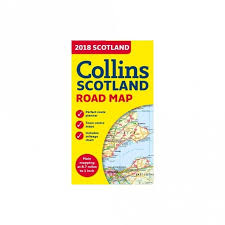 Scotland 2019 Collins Road Map