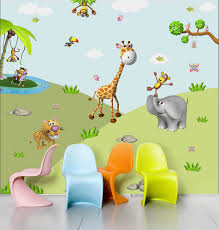rumble in the jungle wall stickers for walls