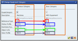 How to change equipment category in SAP PM - 5 Simple Steps