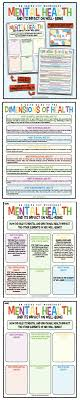 best mental health activities ideas social work every health teacher and school counselors needs this mental health worksheet use the magic of