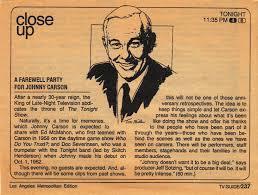 「1992, johnny carson last show」の画像検索結果