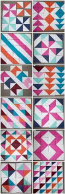 Best 25+ Half square triangles ideas on Pinterest | Half square ... & Half Square Triangle blocks - so many possibilities - Chasing Cottons: Quilt  Class 101 Adamdwight.com
