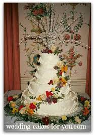fresh flowers for wedding. tropical wedding cake with fresh flowers for