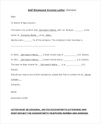 Free Employment Verification Form Template Impressive 48 Proof Of Income Letters PDF DOC Free Premium Templates