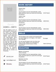 Resume Template Word 2007 Best Of 6 Free Resume Templates Microsoft