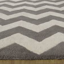 chevron zig zag gray and white area rug adc rugs
