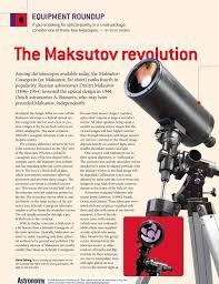 Maksutov Design The Maksutov Revolution Pdf Free Download