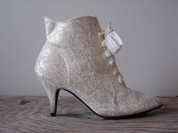 sole mates money miser weddings Wedding Granny Boots if your theme is vintage, what could be more appropriate than a pair of old fashioned lace boots? whether you decide on ankle length or knee length, granny boots for wedding